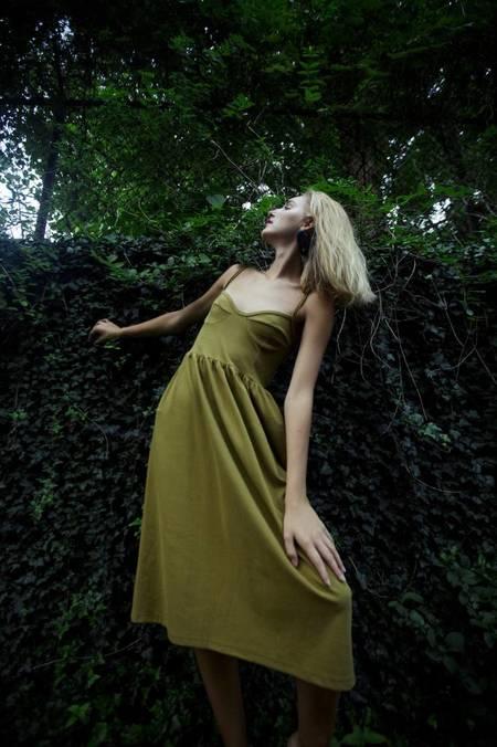 By Signe Moon Dress - Moss