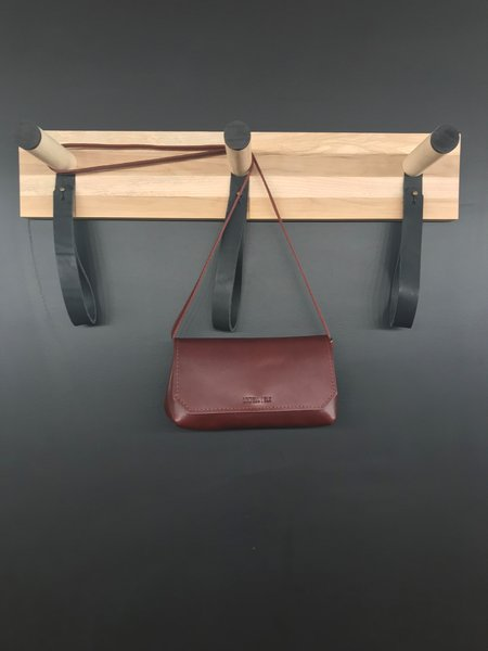 Lowell Blk Liege Leather Limited Edition Bag