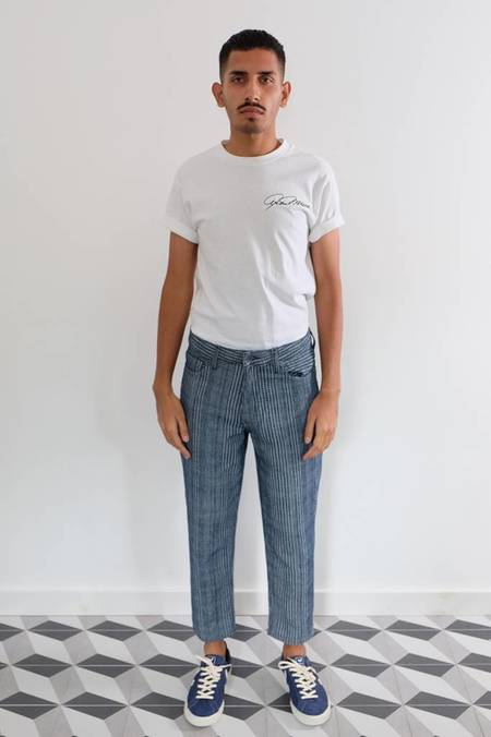 Levi's Made & Crafted Draft Taper Textured Jeans