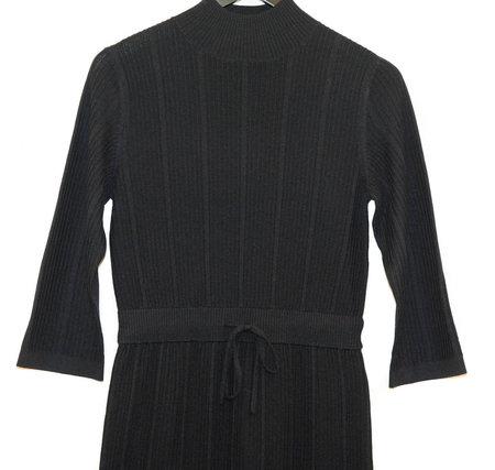 A.P.C. Vivianne Robe Dress - DARK NAVY