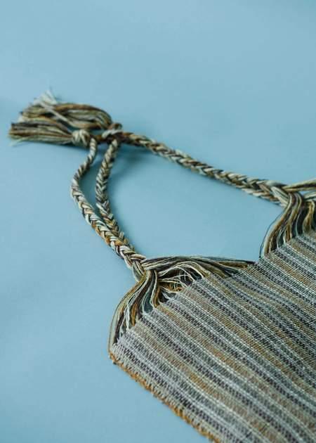 Marta Buda Hand Woven Bag - Multi Stripe