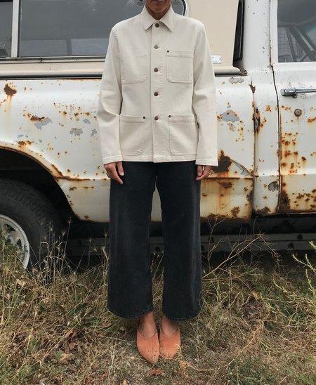 Caron Callahan Krasner Coat - Ivory Cotton