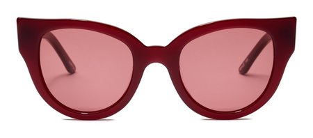 Unisex Carla Colour Barton Sunglasses - Blood/Glazer