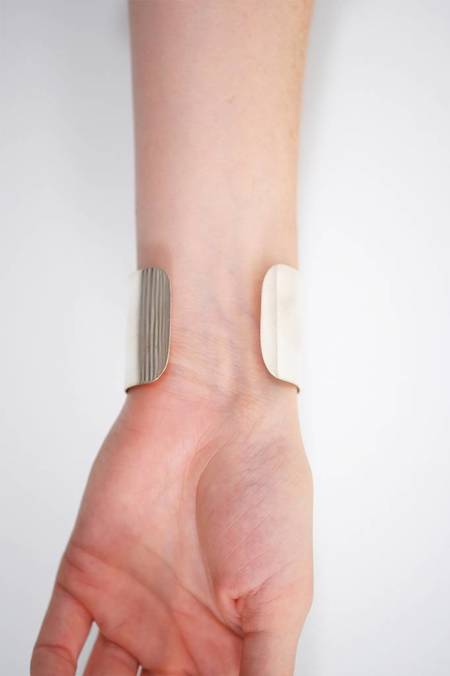 """Kristen Elspeth 1.5"""" Cuff Bracelet - Sterling Silver"""