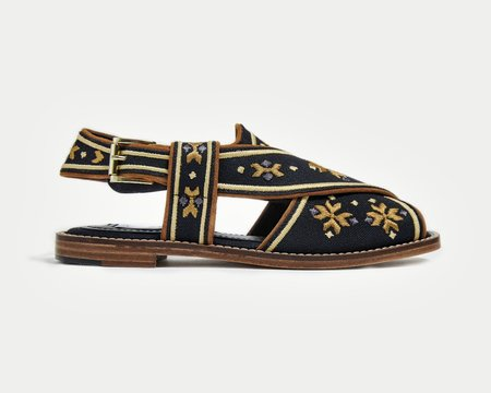 Çaplait Shoes The Swati - BLACK/GOLD