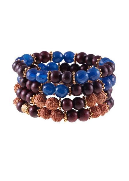 Shivaloka Abhaya Fearless Stack Bracelet