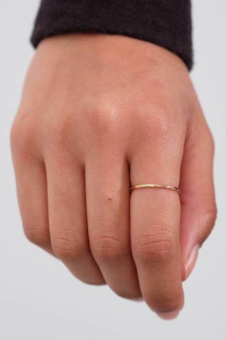 Susumi Studio Shared Ring - 14k Yellow-Rose