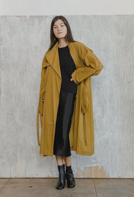 Nehera Overcoat - Mustard
