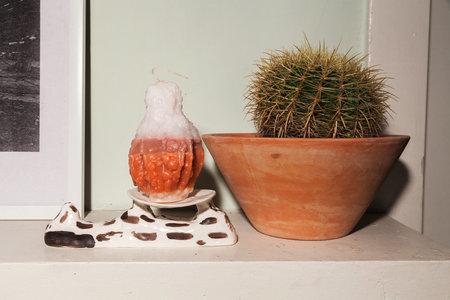 Piera Bochner Gourd Candle
