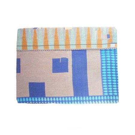 Sari Bari Reversible Kantha Quilt 01