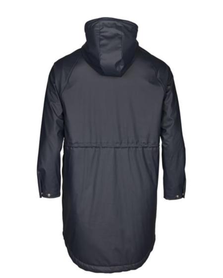Knowledge Cotton Apparel Owl Rain Jacket - Total Eclipse