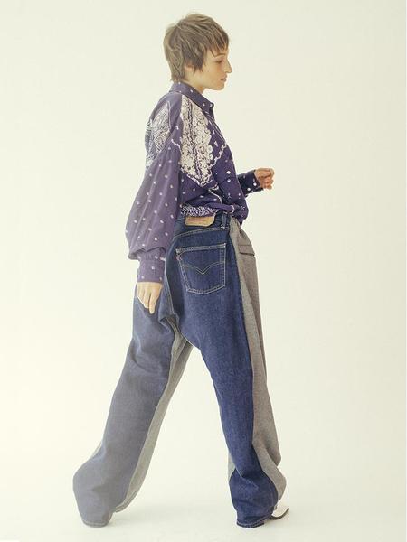 Bless Overjogging jeans - Grey Melange