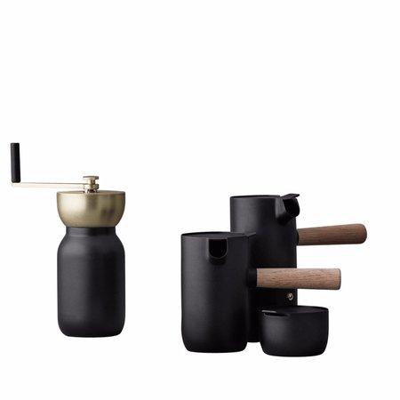 Stelton Collar Milk Jug - MATTE BLACK