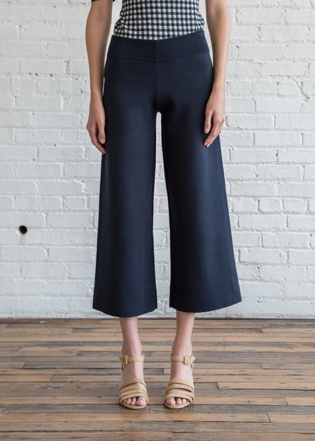 Nomia Cropped Culottes - Midnight