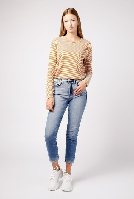 Hudson Jeans Zoeey High Rise Straight Crop - JUST KICK