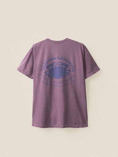 General Admission Crab Tee - Berry