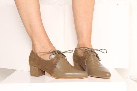 """Intentionally __________."" Prelim Shoe - Khaki"