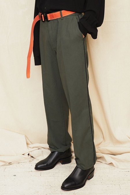 Assembly New York Straight Leg Pant - Olive