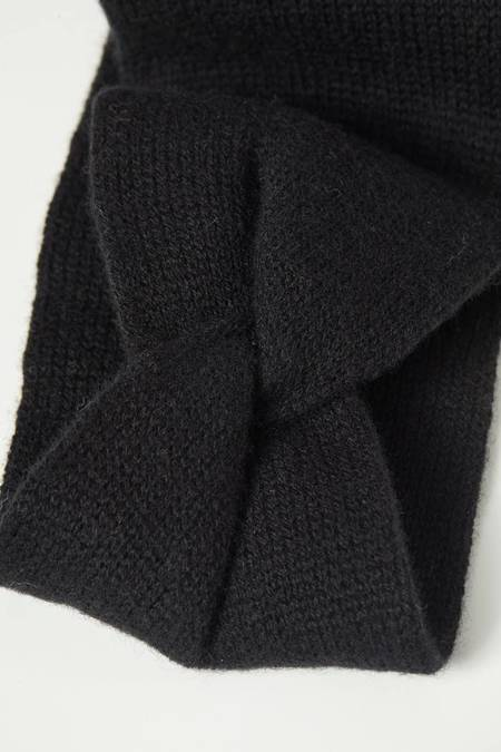 Lanius Merino Wool Headband - Black