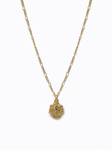 FashionABLE Leo Necklace - Gold Fill