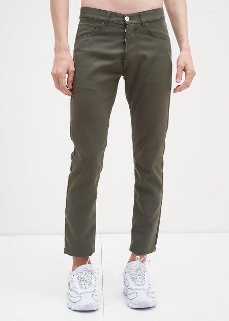 Sunnei Skinny Pants - Military Green