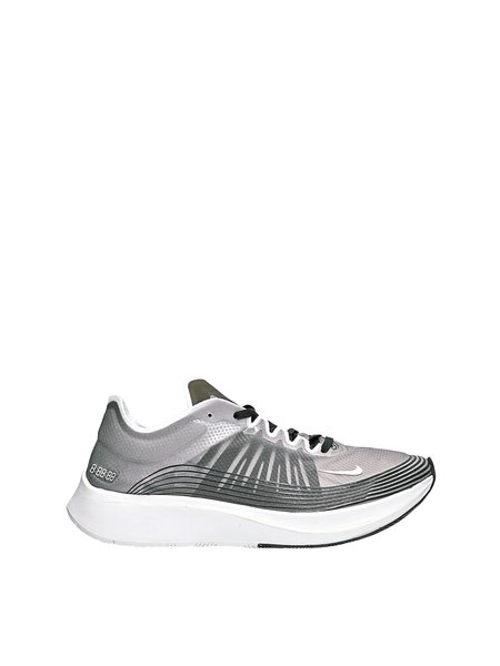 Nike Sportswear Zoom Fly SP Sneakers - Black/Light Bone/White