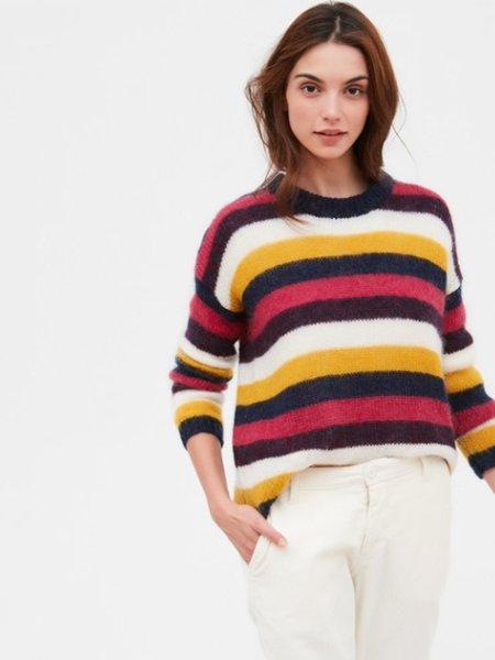 Hartford Mail Stripe Knit - Multi
