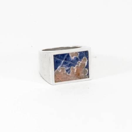 Legier Ring - Silver/Blue Sodalite