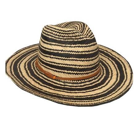Yestadt Millinery Yestadt Somba Hat - Black/Natural