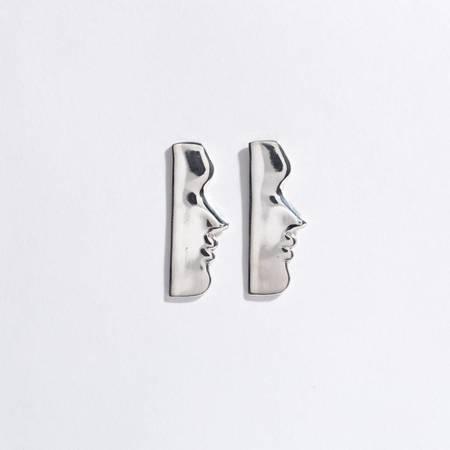 Open House Fille Earrings - Silver