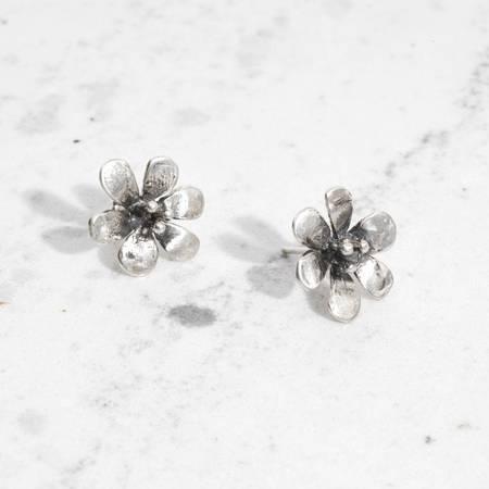 Mondo Mondo Daisy Earrings - STERLING SILVER