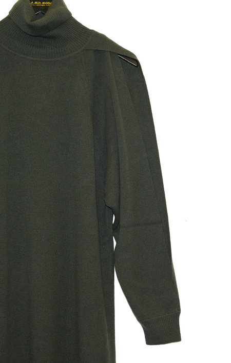 Nehera Krupina Super Lana Cashmere Dress  - Dark Green
