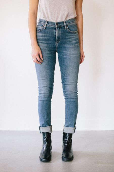 Citizens of Humanity Harlow High Rise Jeans - Witness