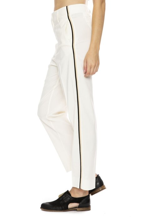 Forte Forte Wool Pant with Side Stripe