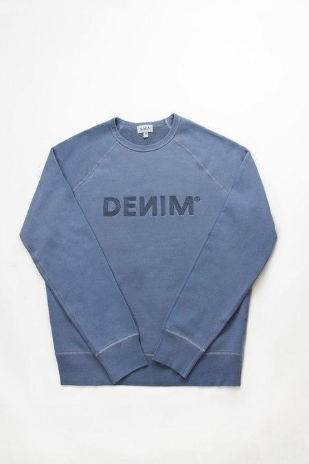 S.M.N. Sweatshirt - DENIM