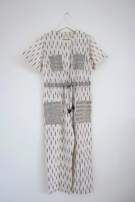 Karu Hand Loomed Jumpsuit - Ivory