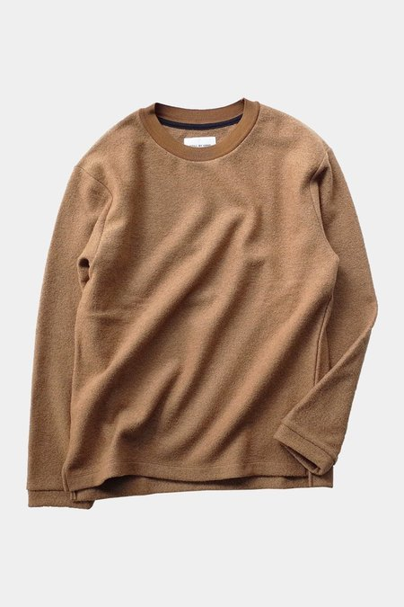 Still By Hand Loop Yarn L/S - Camel