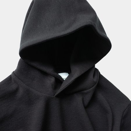 Still By Hand Pullover Parka - Black