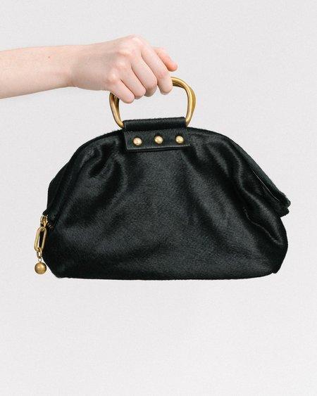 Rachel Comey Puppy handbag - black haircalf