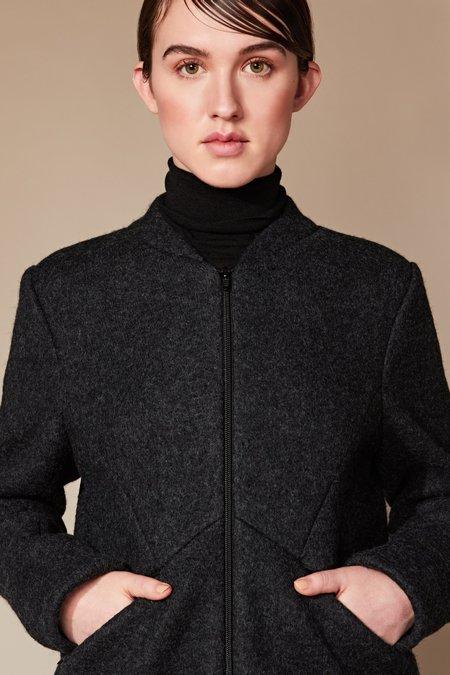 Studio Elsien Gringhuis Bomber Wool Jacket  - Creme