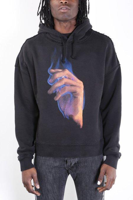 Misbhv Flame Hoodie - Washed Black