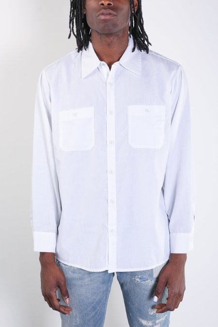 Rxmance Vintage Workwear Shirt - White