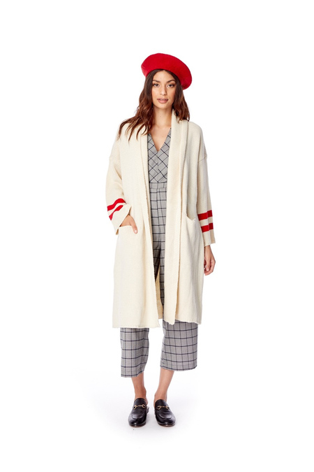 Lost + Wander Mulberry Cardigan