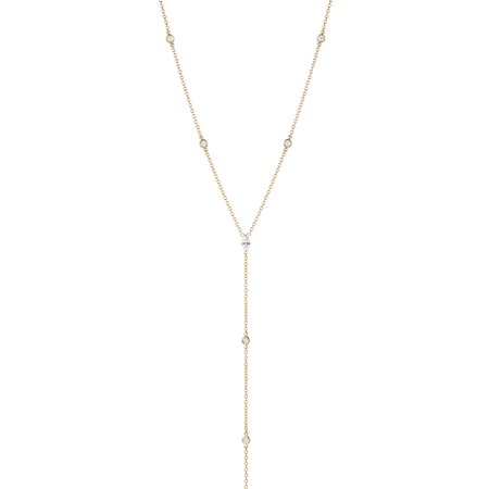 Shahla Karimi Marquise Body Chain Necklace