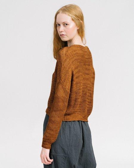 Atelier Delphine Luna Cashmere Alpaca Sweater - Amber