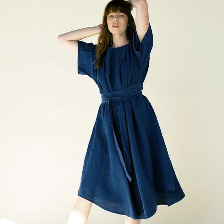 Suunday Ema Dress - Blue Opal