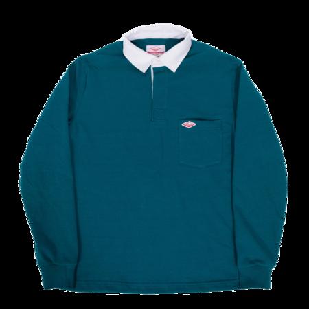 Unisex Battenwear Pocket Rugby Shirt - Teal