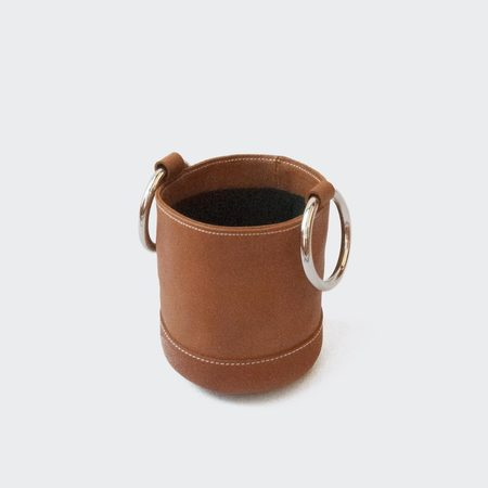 Simon Miller Bonsai 15cm Bag - Dark Tan