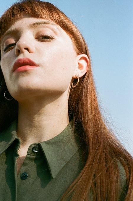 MONDO MONDO Guinevere Earrings - Amethyst