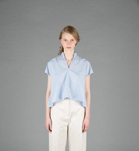 Creatures of Comfort Naomi Cotton Top - SKY BLUE